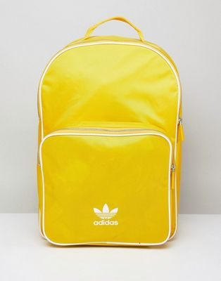 adidas Originals adicolor Backpack In Yellow CW0634