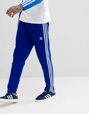 adidas Originals adicolor Beckenbauer Joggers In Skinny Fit In Blue CW1271