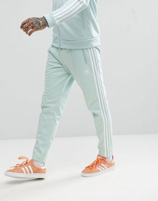 adidas Originals adicolor Beckenbauer Joggers In Skinny Fit In Blue CW1272