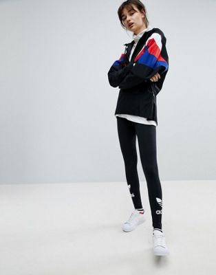 adidas Originals adicolor Leggings With Double Trefoil Logo