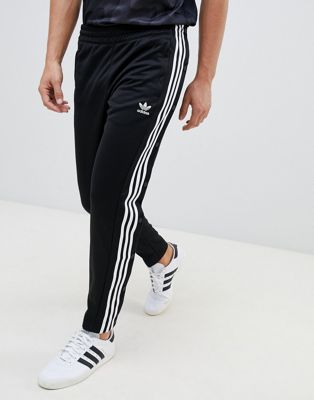 adidas Originals adicolor Popper Joggers In Black CW1283
