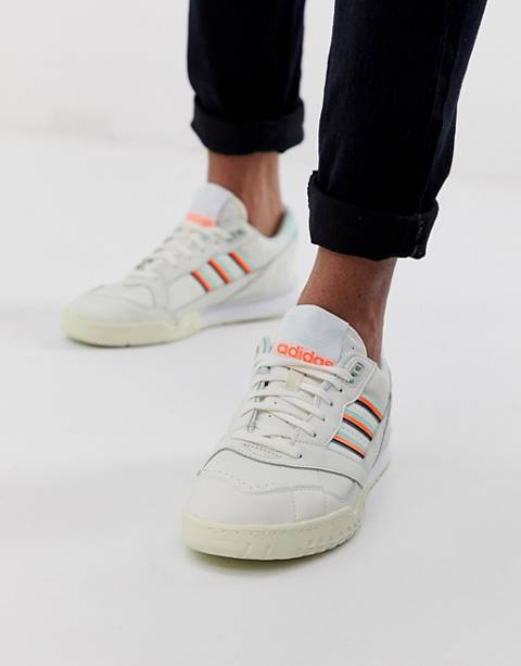 adidas Originals A.R sneakers in off white