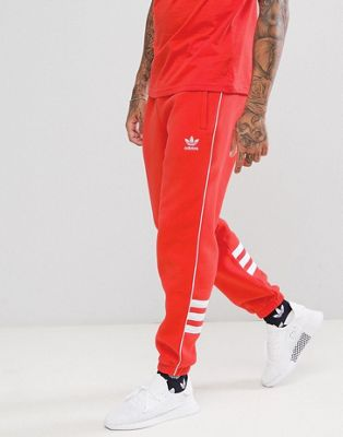 adidas Originals Authentic Joggers In Red DH3859