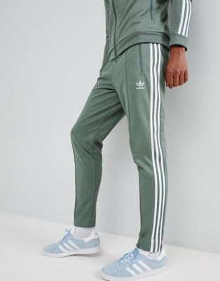 adidas Originals Beckenbauer Joggers In Green DH5818