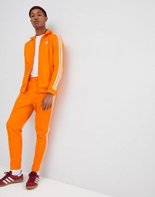 adidas Originals Beckenbauer Joggers In Orange DH5819