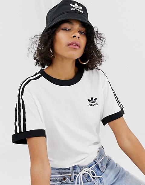 adidas Originals - Bob à logo trèfle - Noir