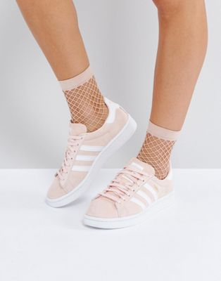 Image 1 of adidas Originals Campus Sneaker In Pale Pink