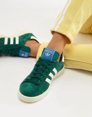 adidas Originals Campus Trainers With In Green