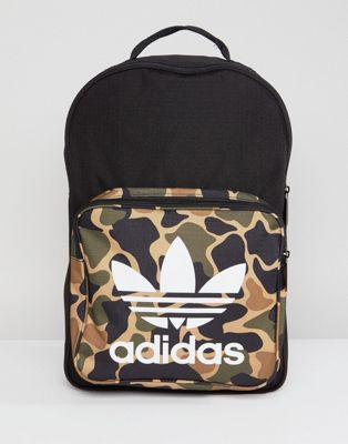 adidas Originals Classic Backpack In Camo CD6121