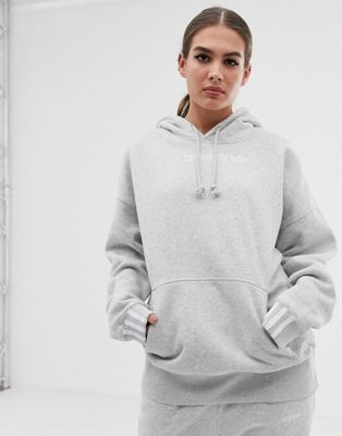 adidas Originals Coeeze hoodie in gray heather
