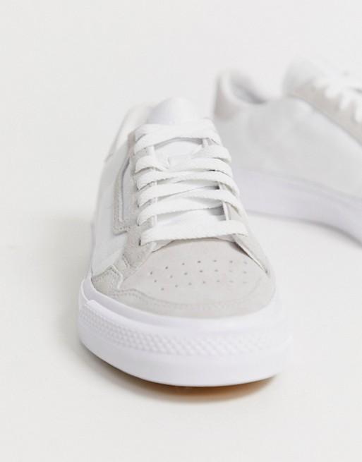 adidas Originals - Continental 80 - Baskets à semelle vulcanisée - Blanc