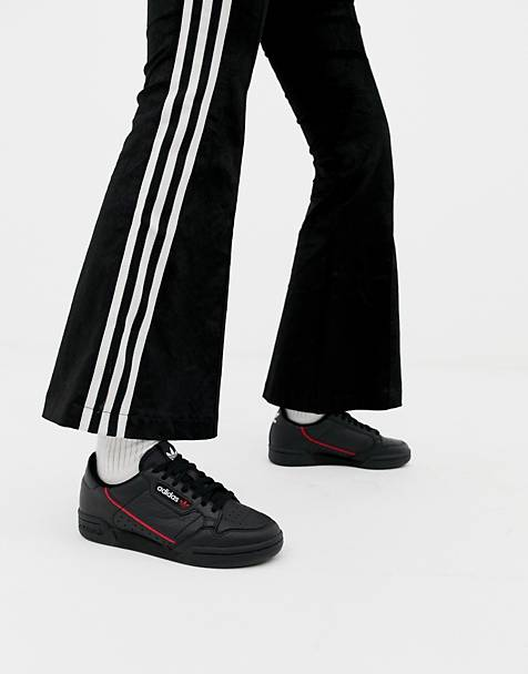 adidas Originals Continental 80 sneakers in black