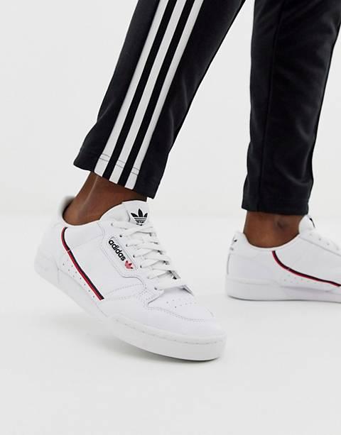 adidas Originals – Continental 80 – Weiße Sneaker, G27706