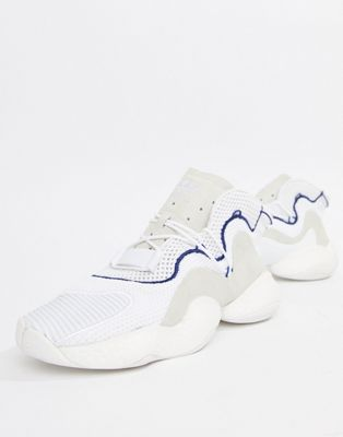 adidas Originals - Crazy BYW - LVL 1 Boost - Sneakers in wit CQ0992