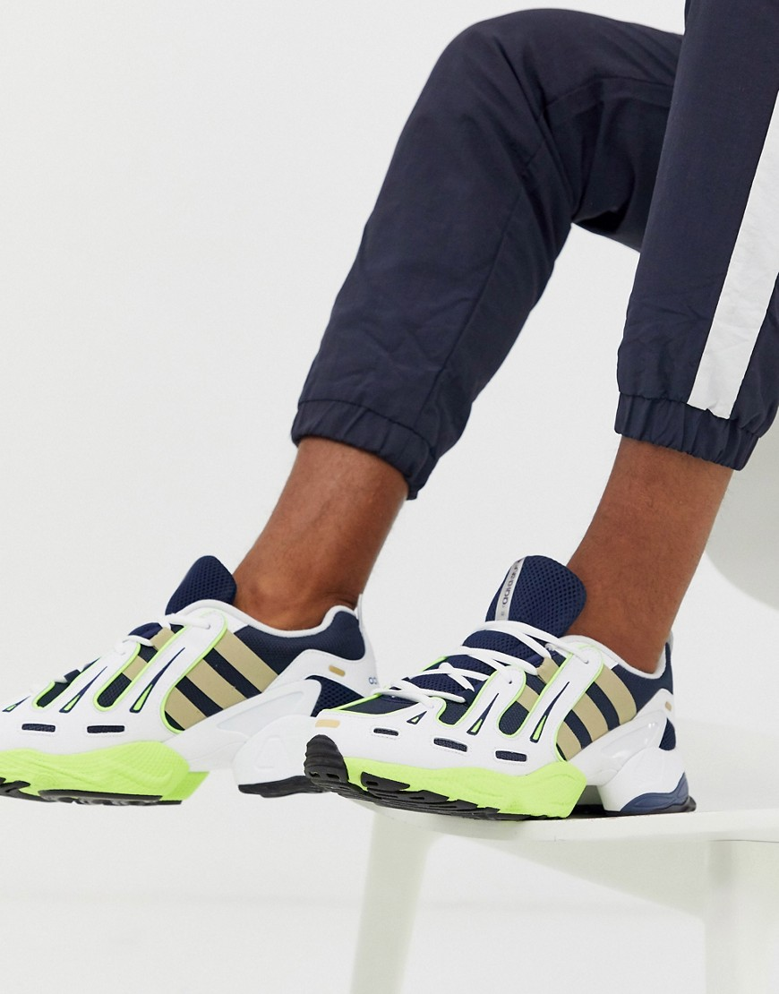 Adidas originals eqt gazelle baskets bleu marine navy