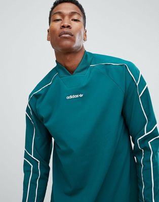 adidas Originals EQT Goalie Top In Green DH5142
