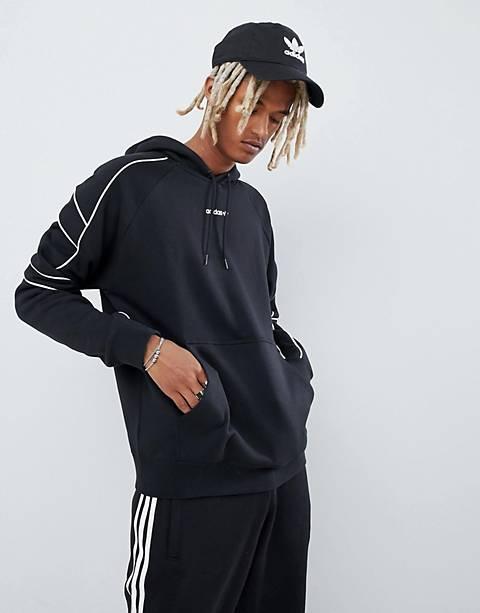 adidas Originals EQT Outline Hoodie In Black DH5216