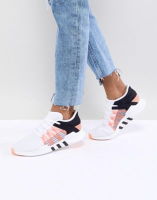 adidas Originals EQT Racing Adv Trainers In White