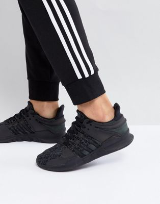 adidas Originals EQT Support ADV Trainers In Black BY9589