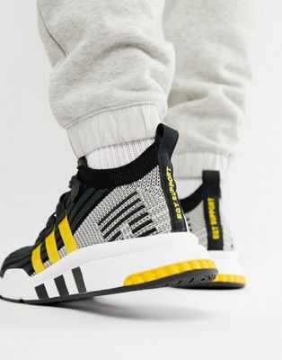 adidas Originals EQT Support Mid ADV Sneakers In Black CQ2999