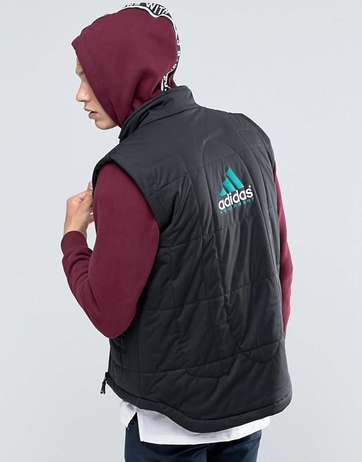 adidas Originals EQT Vest In Black AY9245