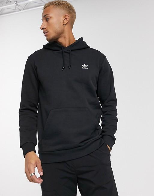 adidas Originals – Essentials – Kapuzenpullover in Schwarz