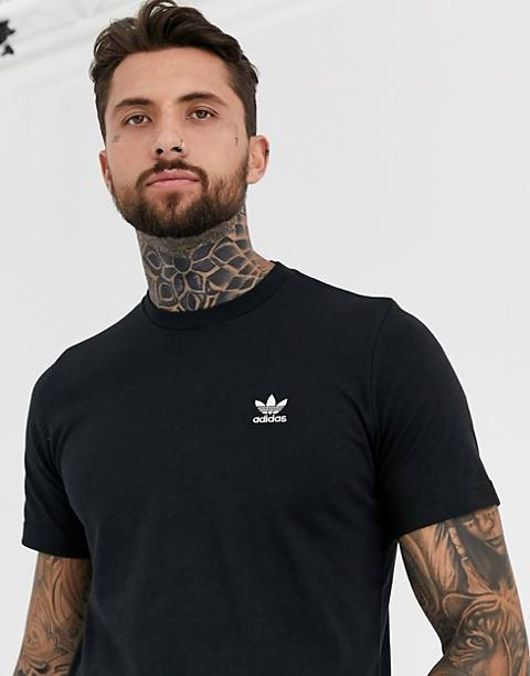 adidas Originals Essentials T-Shirt in black