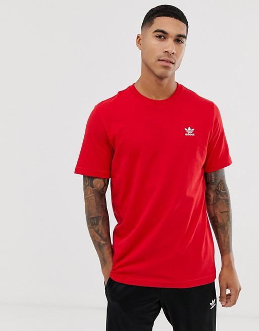 adidas Originals - Essentials - T-shirt - Rouge