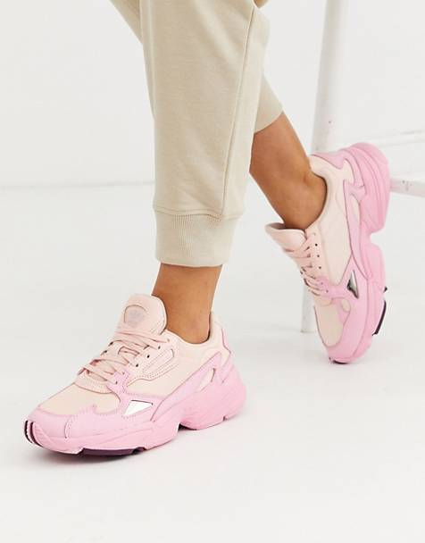 adidas Originals Falcon in pink tint
