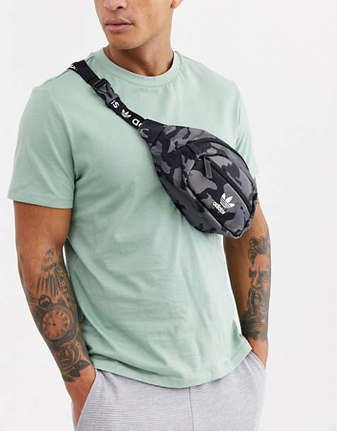 adidas Originals Fanny Pack in camo