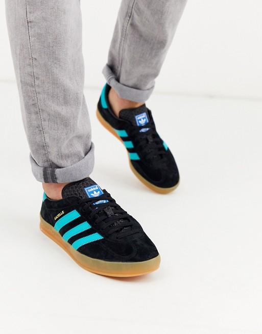 adidas Originals - Gazelle - Baskets à semelle en gomme - Noir