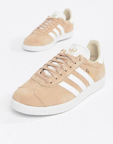 adidas Originals Gazelle Sneakers In Blush