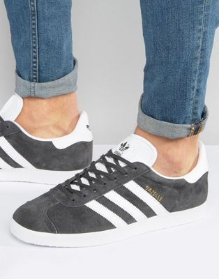 Image 1 of adidas Originals Gazelle Sneakers In Gray BB5480