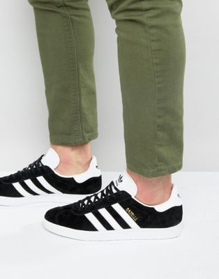 adidas Originals Gazelle Trainers In Black BB5476