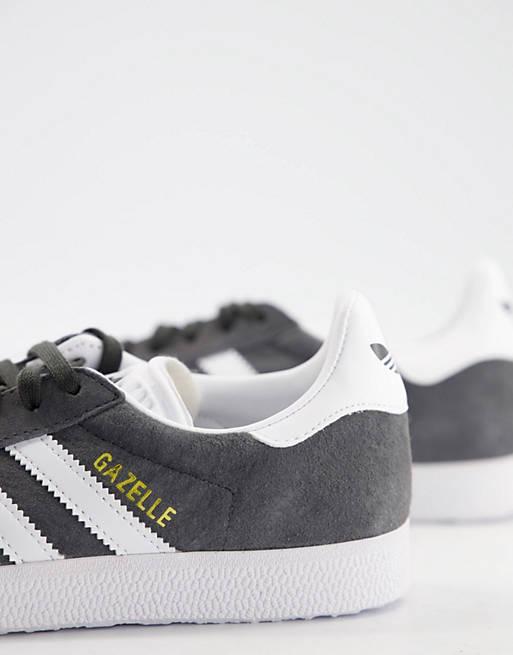 adidas Originals Gazelle trainers in grey