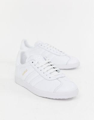 Bild 1 von adidas Originals – Gazelle – Weiße Sneaker