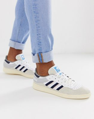 Image 1 of adidas Originals handball top sneakers in white