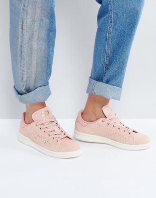 adidas Originals - Haze Stan Smith - Baskets - Corail