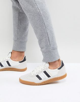 adidas Originals Indoor Super Sneakers In White CQ2223
