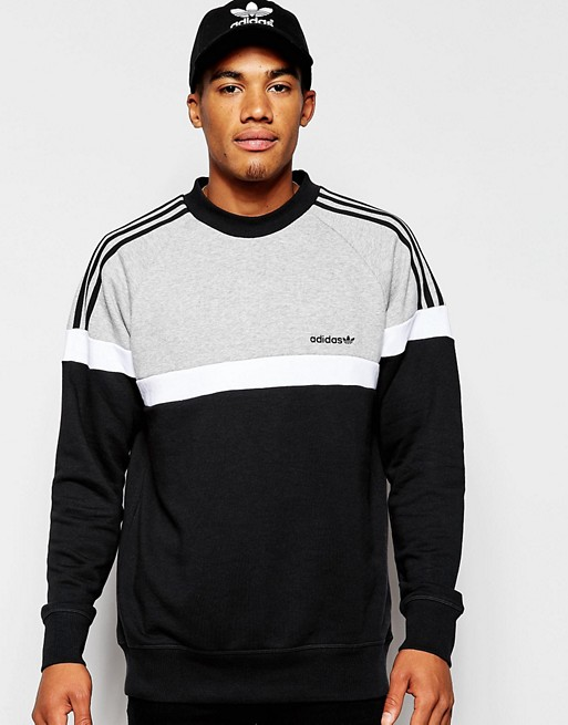 adidas originals sweat itasca crew homme
