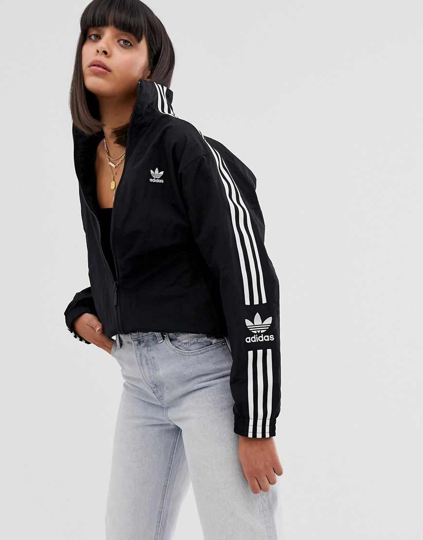Adidas Originals Locked Up logo træningsjakke i sort