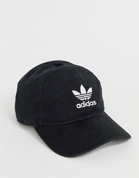 adidas Originals logo cap in black