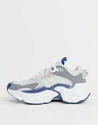 adidas Originals - Magmur - Baskets de courses - Gris et bleu