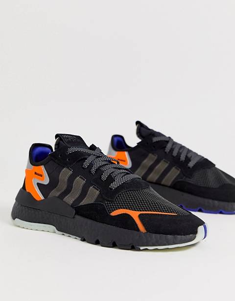 adidas Originals Nite Jogger sneakers in Black