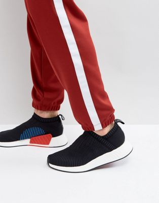 adidas Originals NMD CS Primeknit Sneakers In Black CQ2372