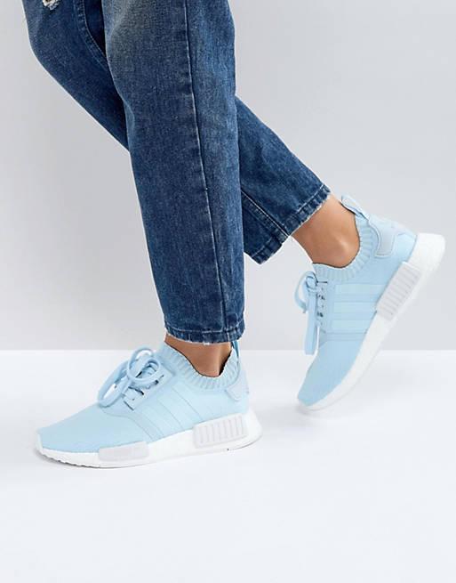 adidas Originals NMD R1 Sneaker In Pale Blue