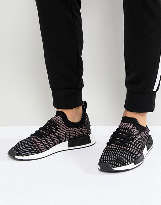 adidas Originals NMD R1 STLT Sneakers In Black CQ2386