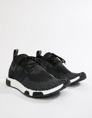 adidas Originals NMD Racer PK Sneakers In Black AQ0949