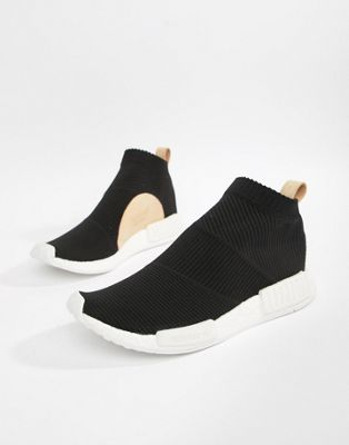 adidas Originals NMD_CS1 PK Sneakers In Black AQ0948