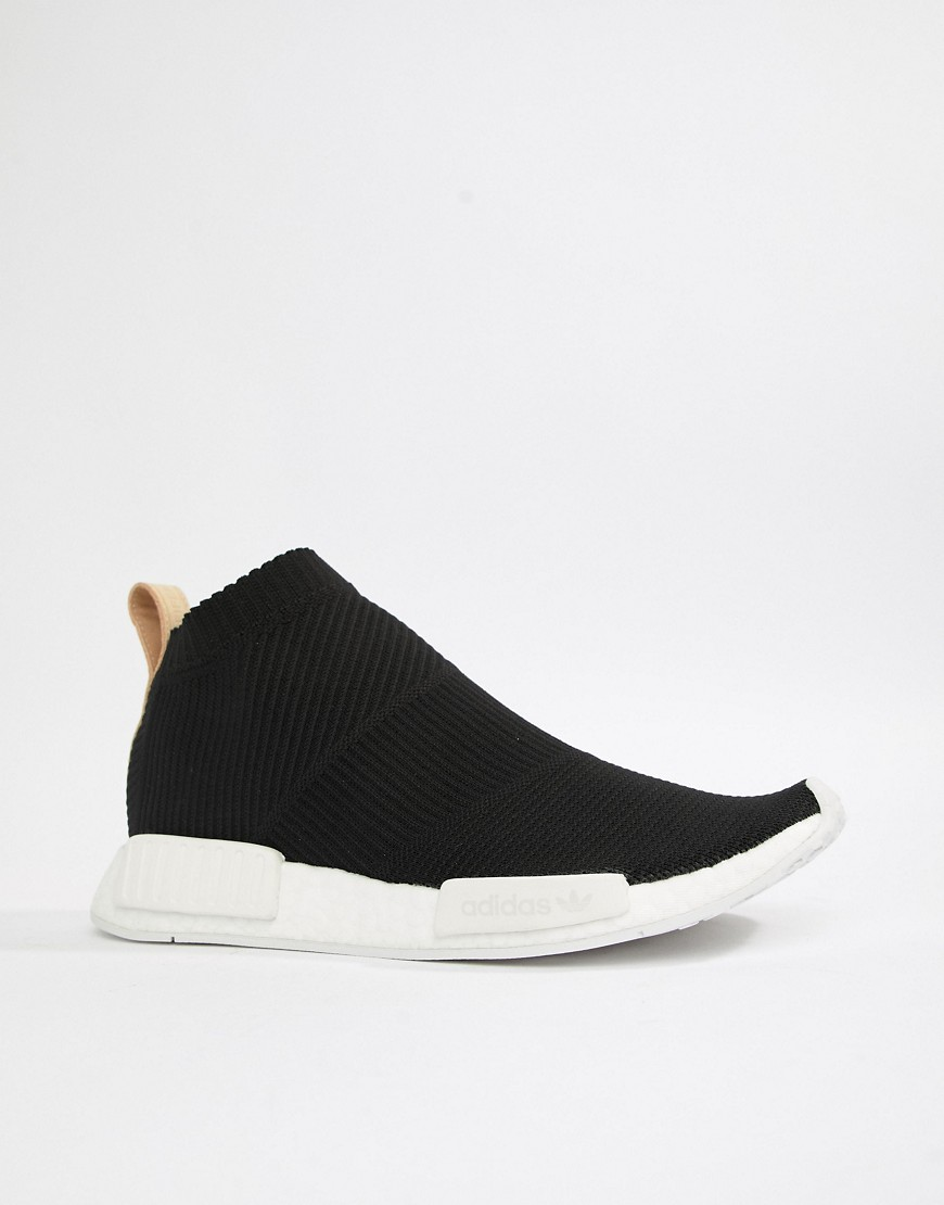 Adidas Originals Nmd Cs1 Pk Trainers In Black Aq0948 by Adidas Originals